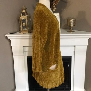Anthropologie Sweaters - Anthropologie Moth Oversized Chenille Cardigan